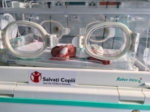 Spitalul din Alexandria a primit un incubator pentru născuții prematur