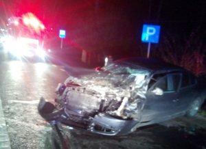 Accident grav în comuna Bujoreni. 6 persoane au fost rănite