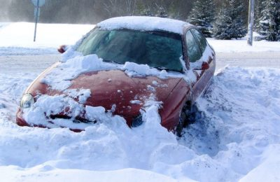 Probleme din cauza viscolului zapada