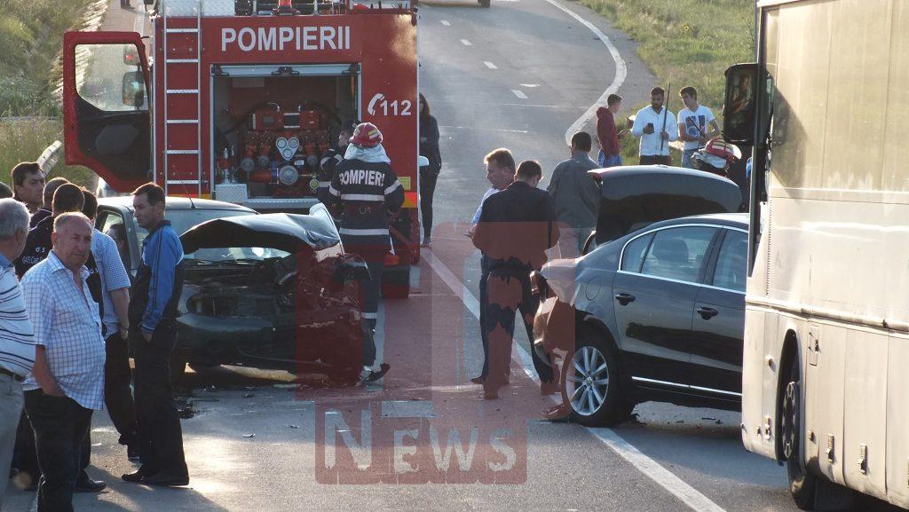 Accident grav între Alexandria și Turnu Măgurele