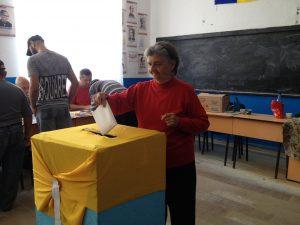 alegeri parțiale în comun olteni