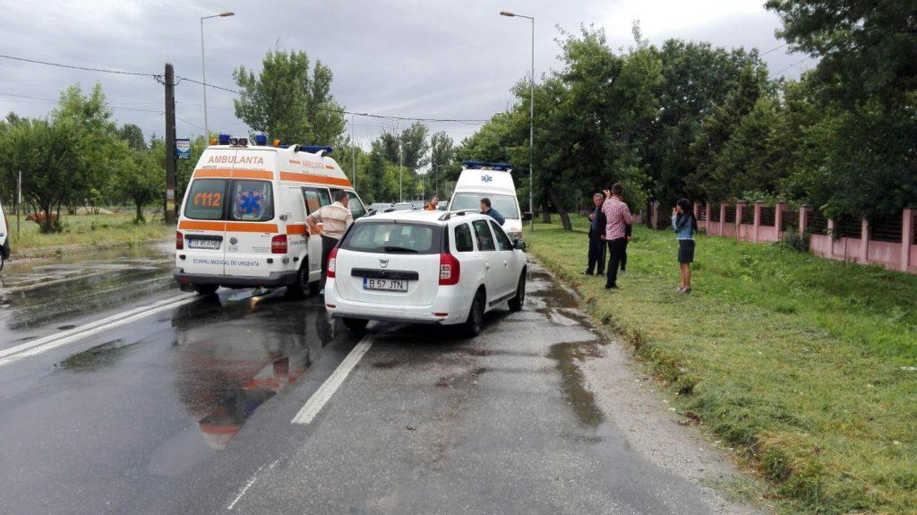 Accident rutier în comuna Nenciulești