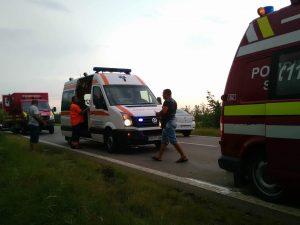 accident rutier pe E70