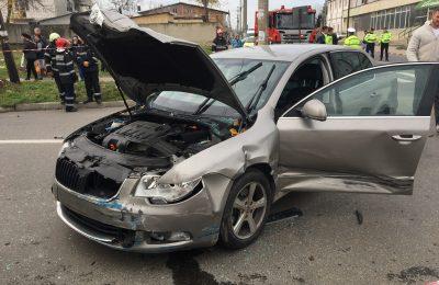 Accident pe străzile din Alexandria