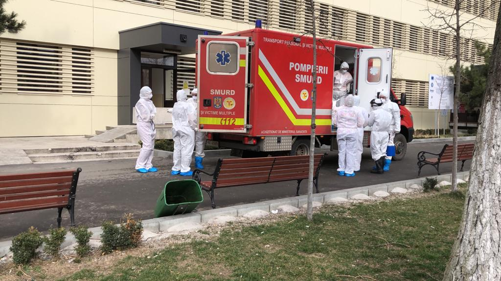 Copilul din comuna Blejești a ajuns la Spitalul de Urgență din Alexandria