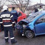 Accident rutier cu 6 victime! Două autoturisme s-au ciocnit FOTO