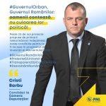 Guvernul Orban, Guvernul Românilor: oamenii contează, nu culoarea lor politică!