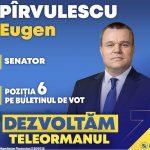 Declarație de presă a senatorului PNL, Eugen Pîrvulescu